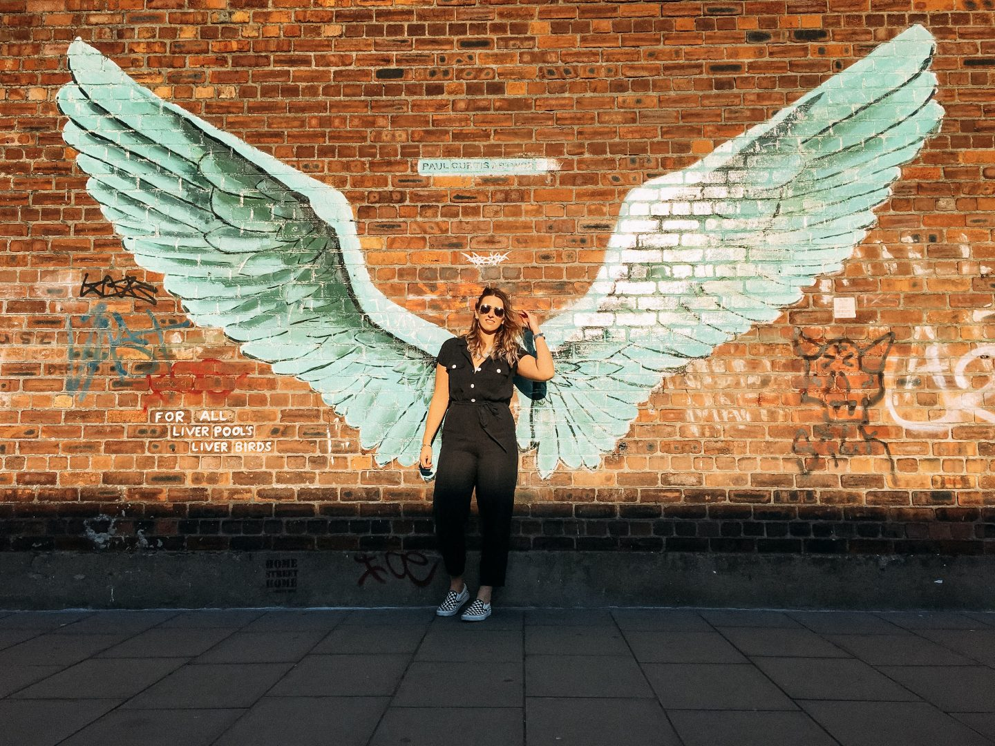 Liverpool Angel Wings