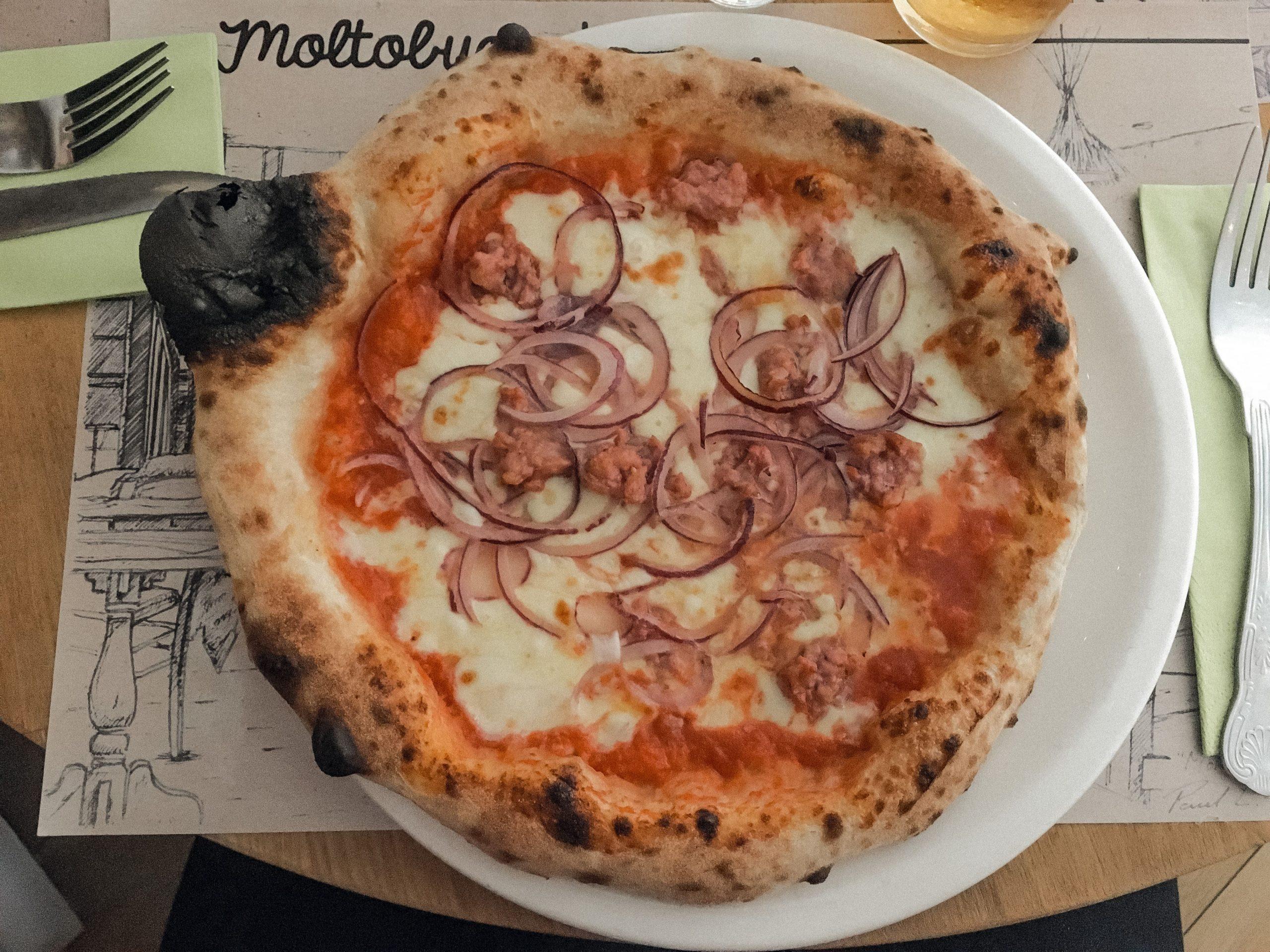 pizza from Molto Buono Bristol