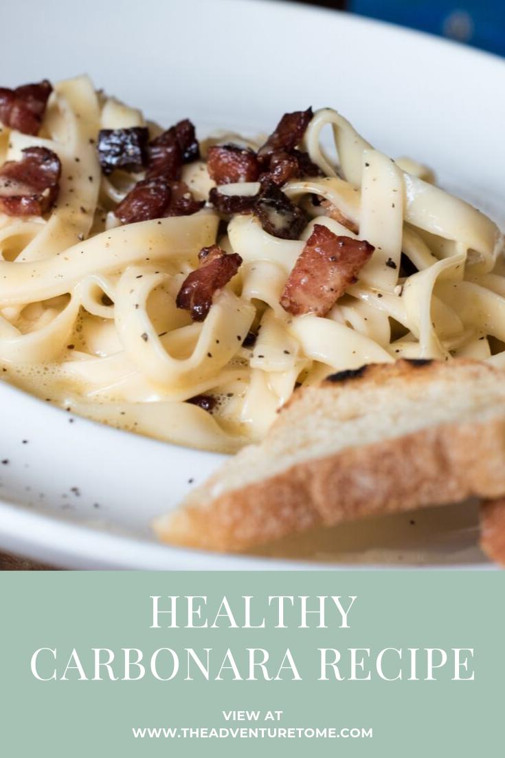 Healthy Carbonara Recipe