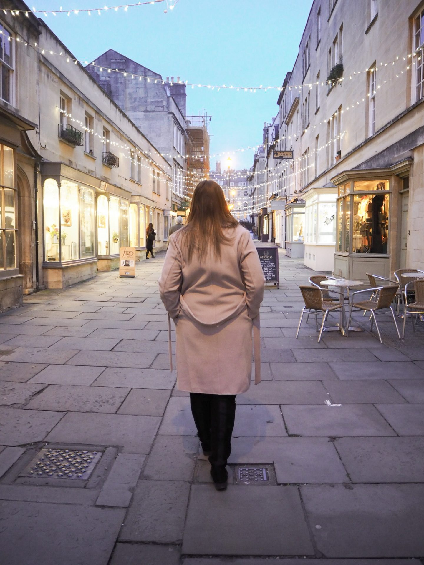 Bath, UK in the evening