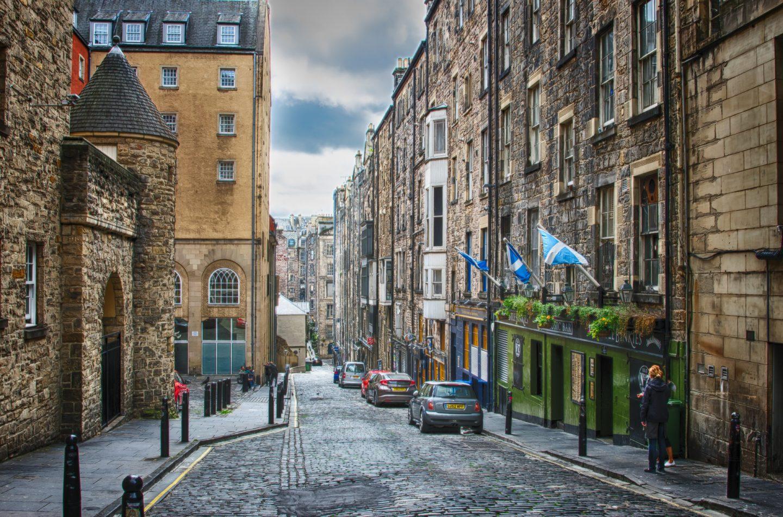 Edinburgh cute streets
