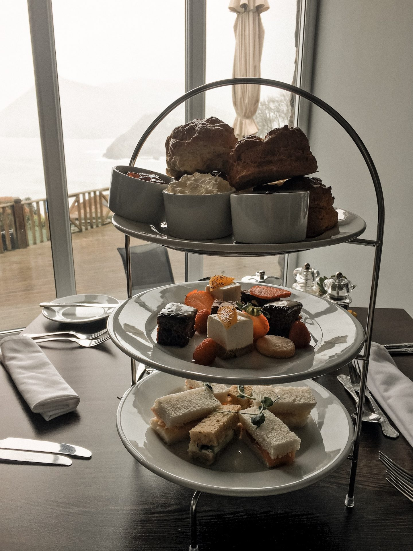 Sandy Cove Hotel Afternoon Teas in North Devon