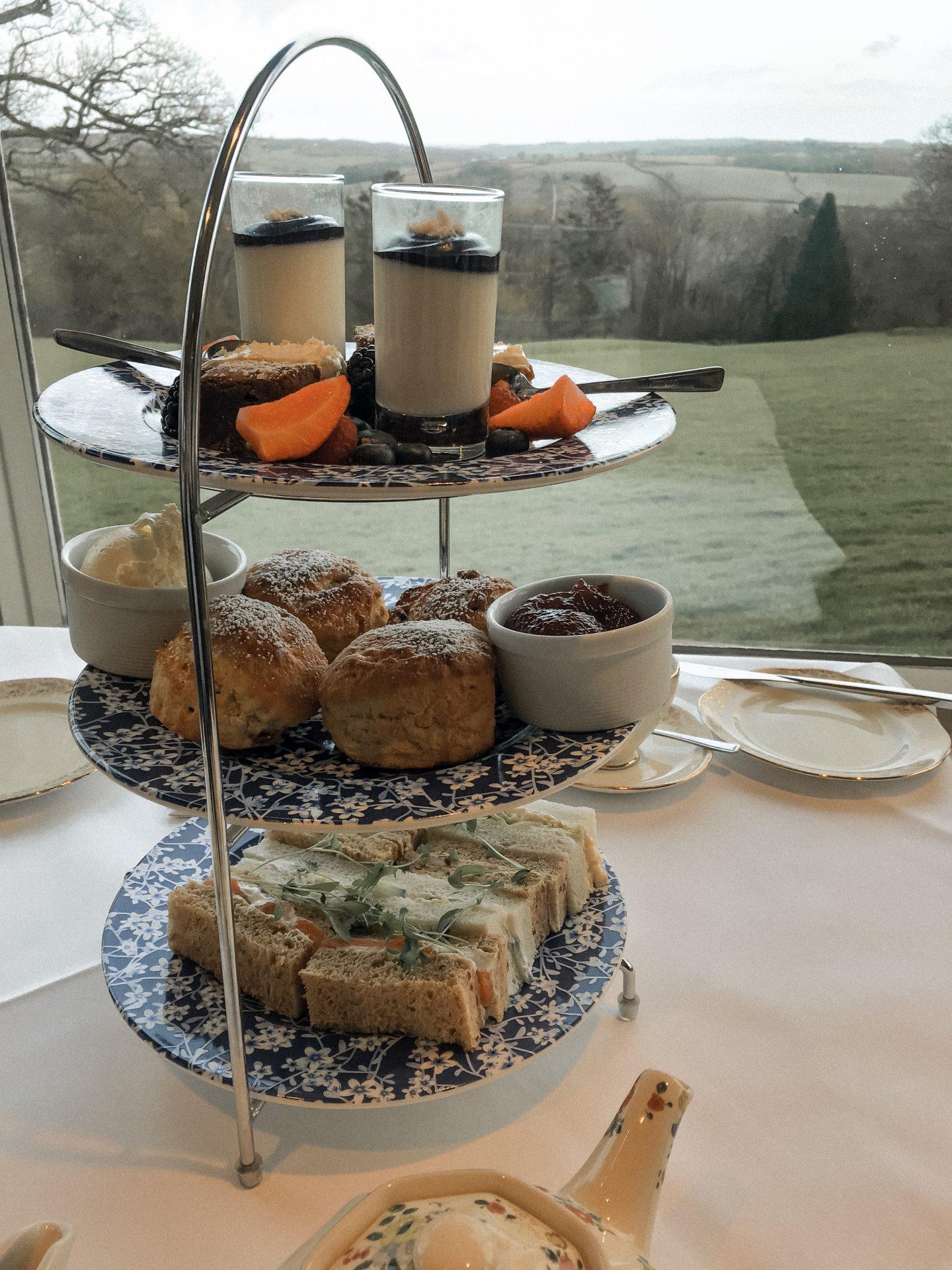 Highbullen Hotel afternoon teas in North Devon