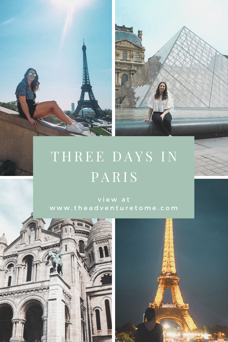 Three Days in Paris itinerary
