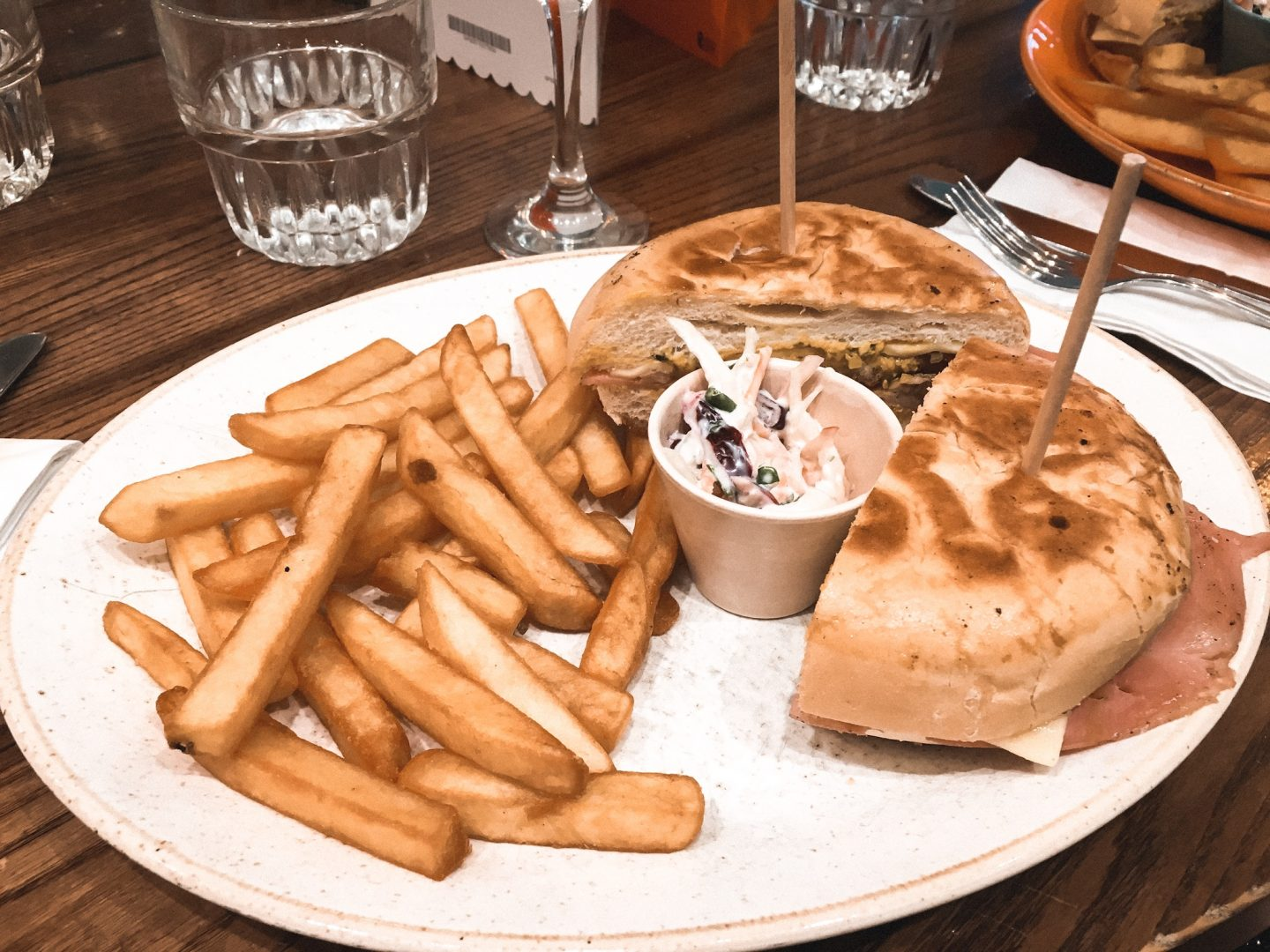 Cuban Sandwich at bottomless brunch in bristol