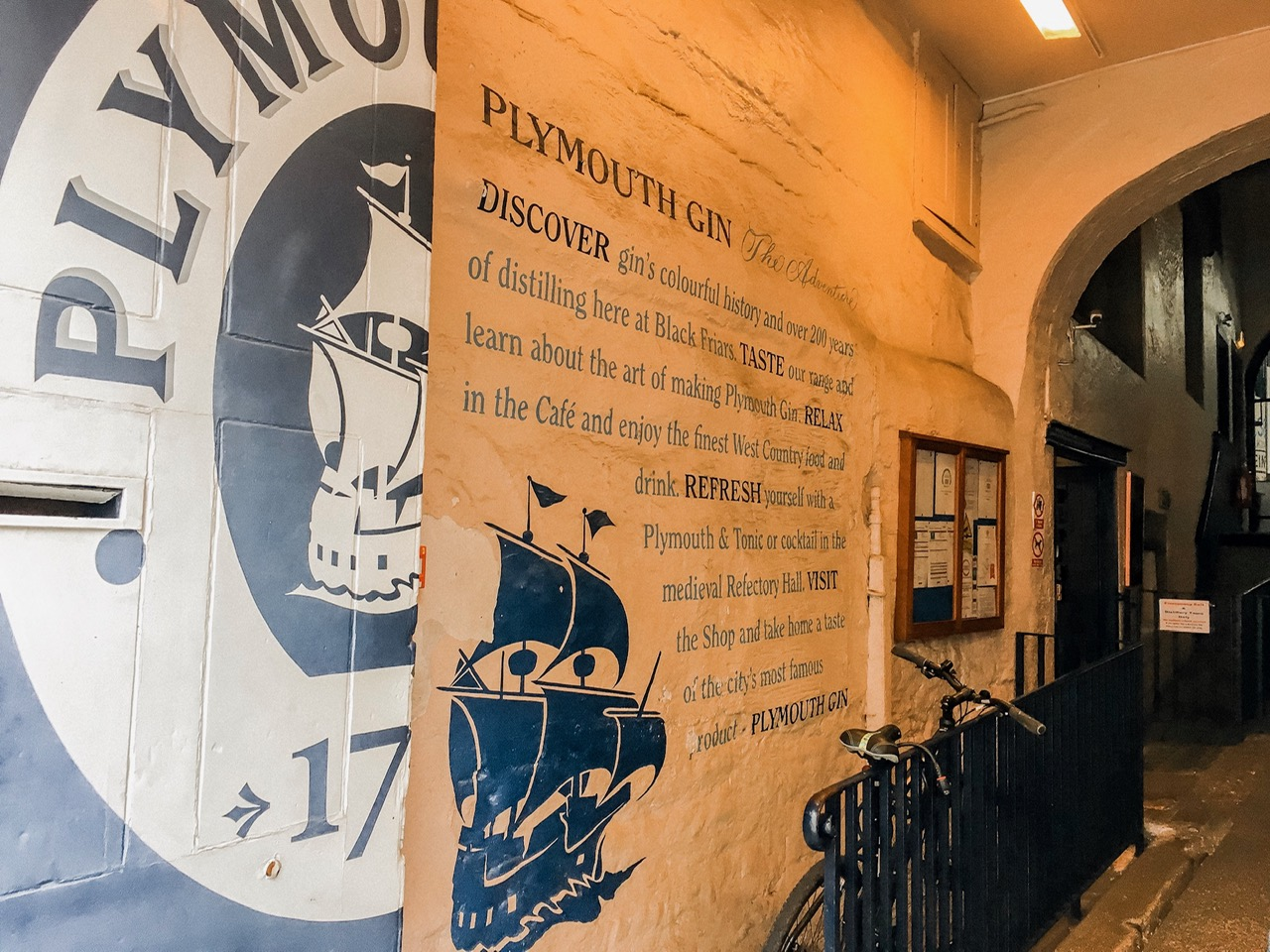 Day trip to Plymouth gin distillery tour