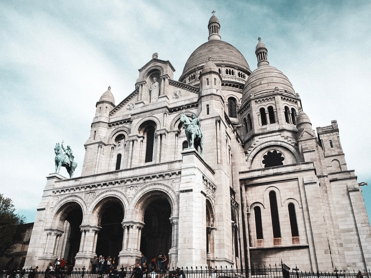 Sacré-Coeur, Montemarte, three days in Paris