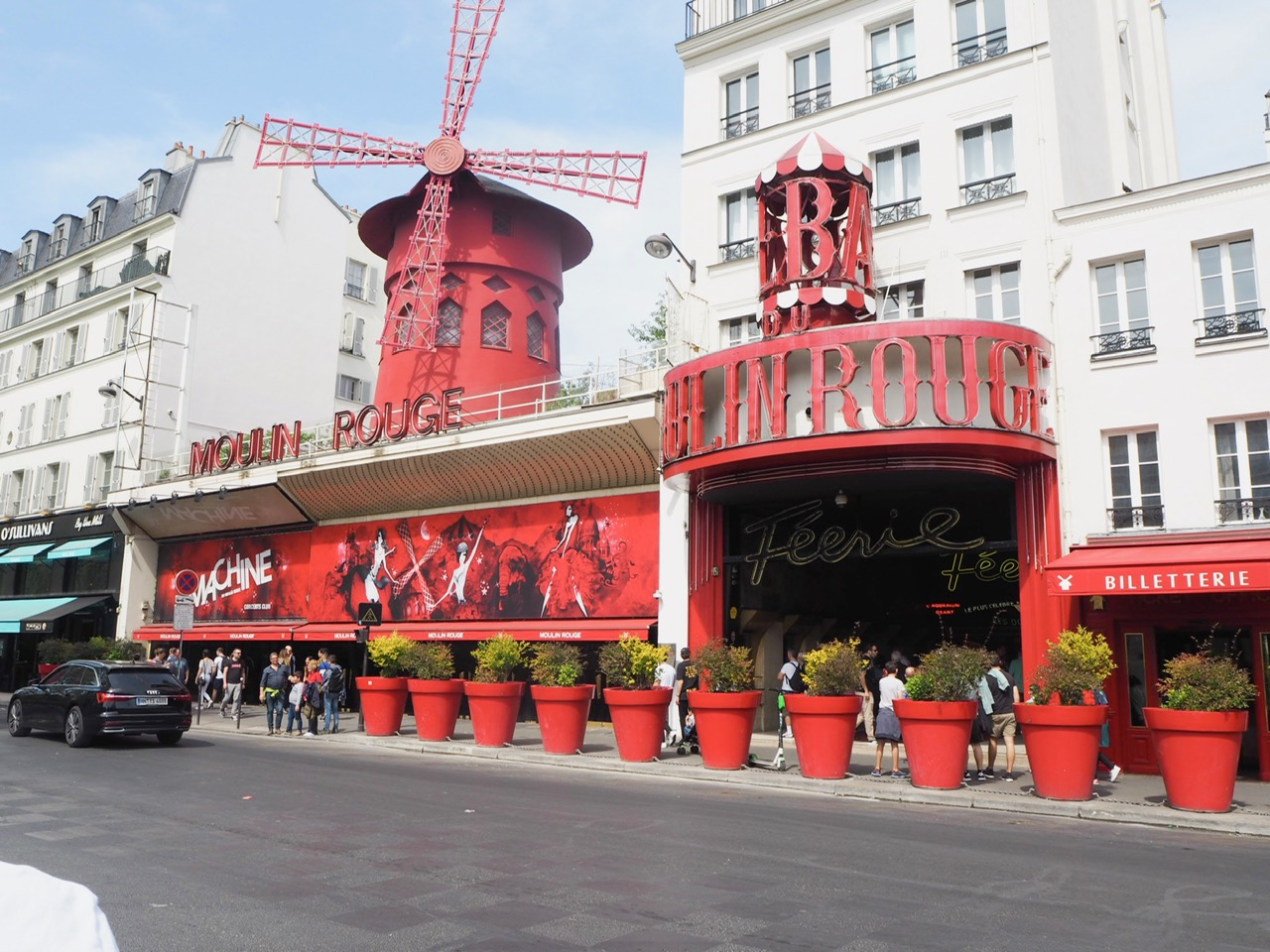 Moulin Rogue, three days in Paris