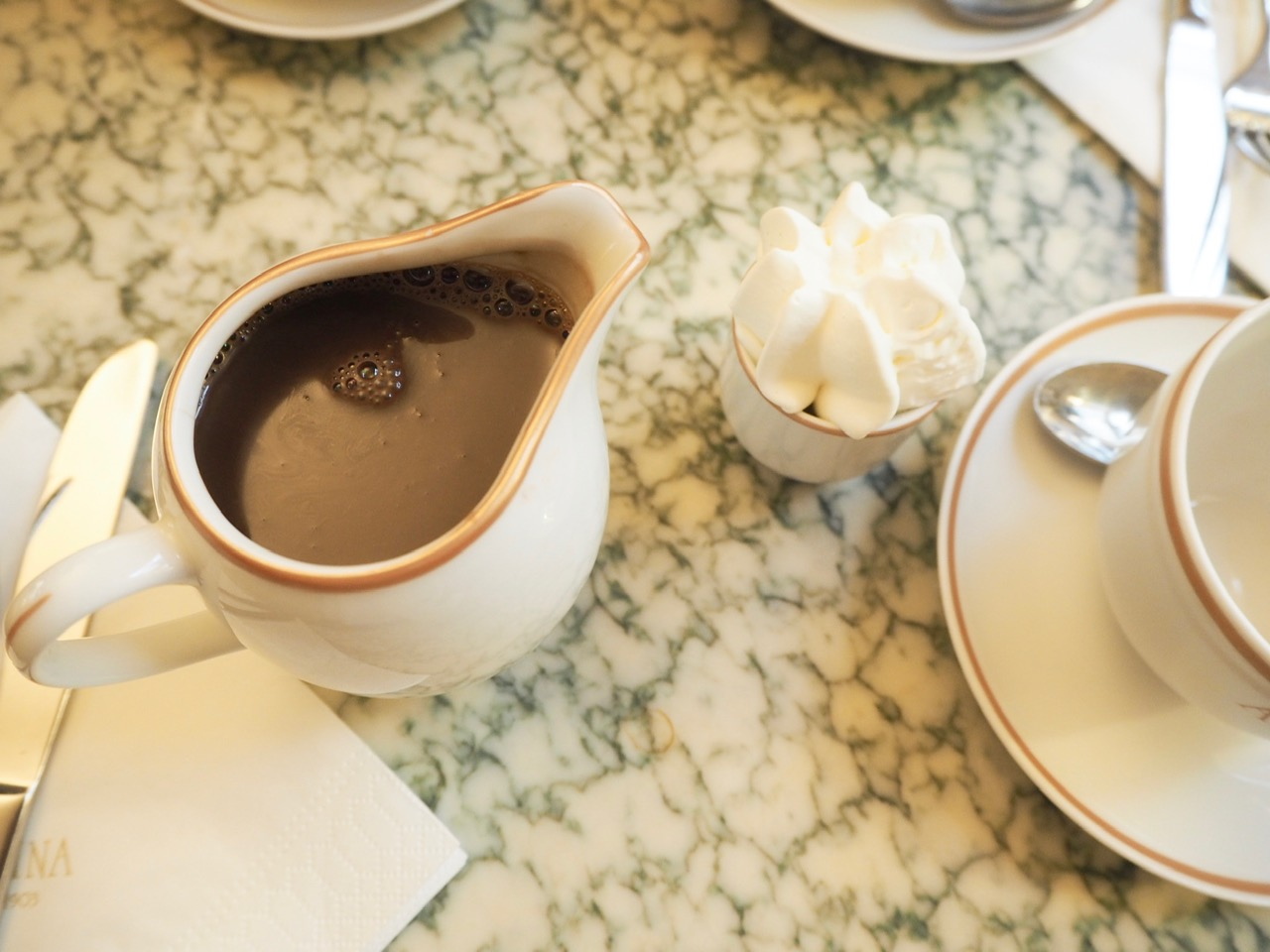 Angelinas Hot Chocolate, three days in Paris