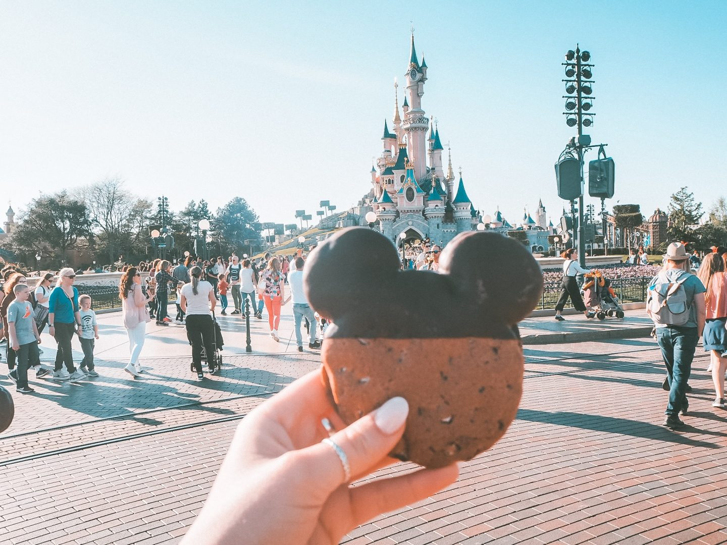 Disneyland Paris Mickey cookies