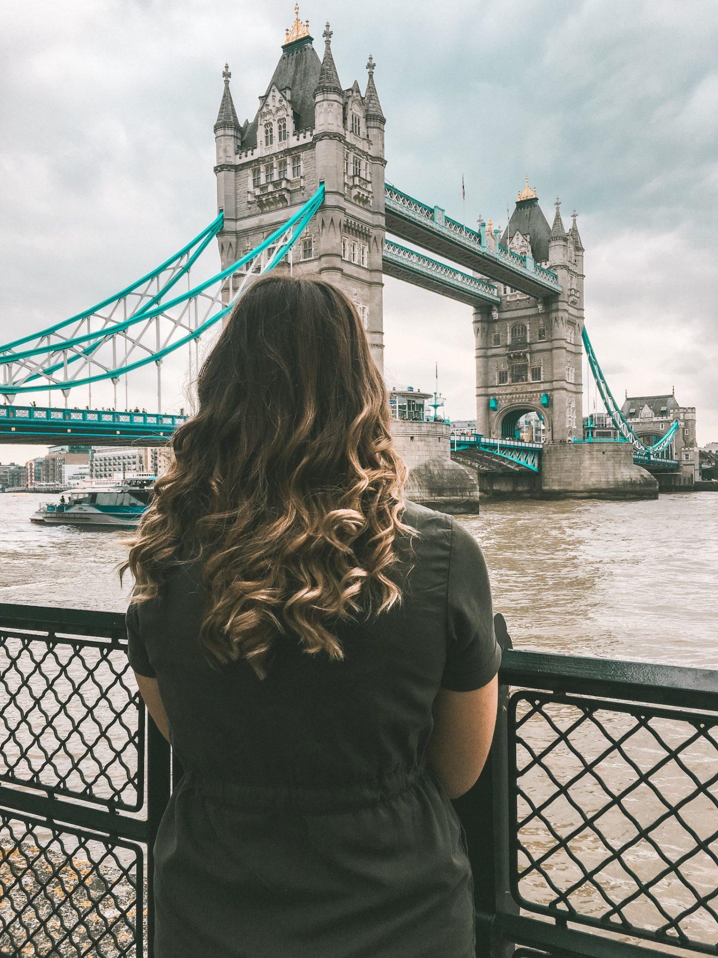 Views of London Bridge - two days in London