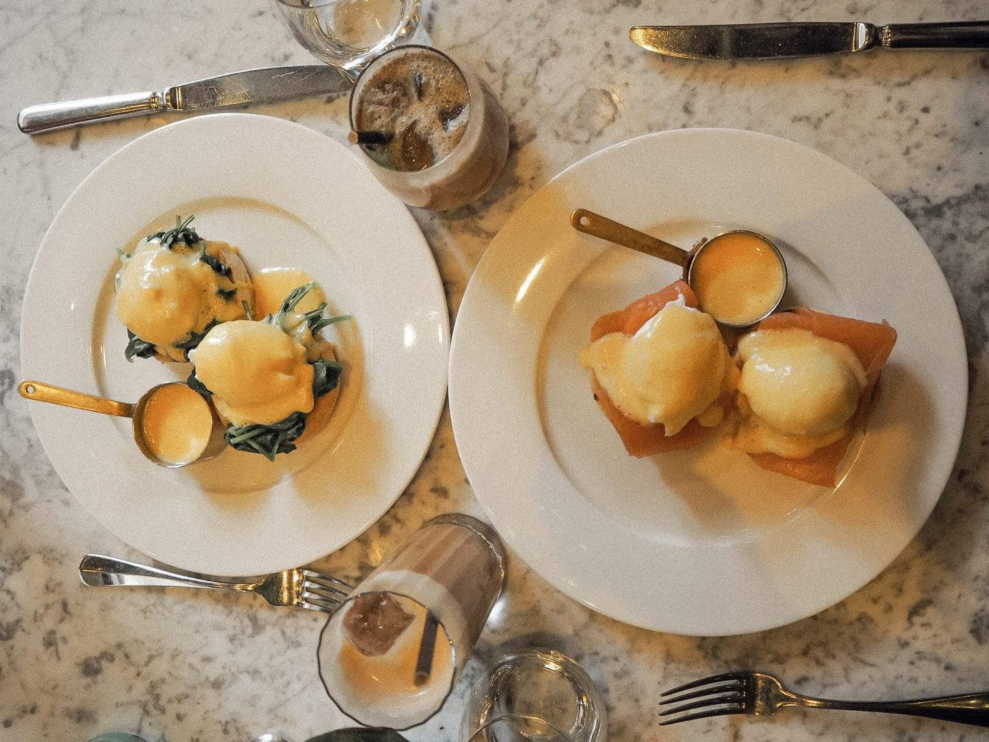 Brunch at Dalloway Terrace in London