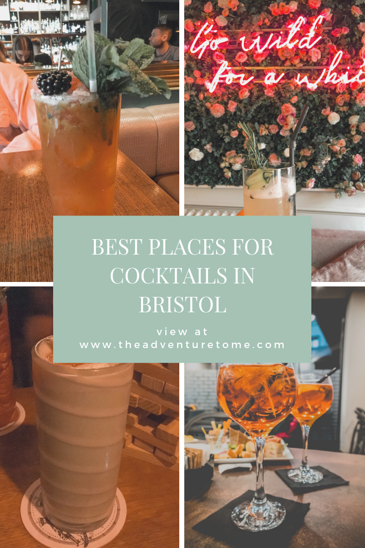Best places for cocktails in Bristol