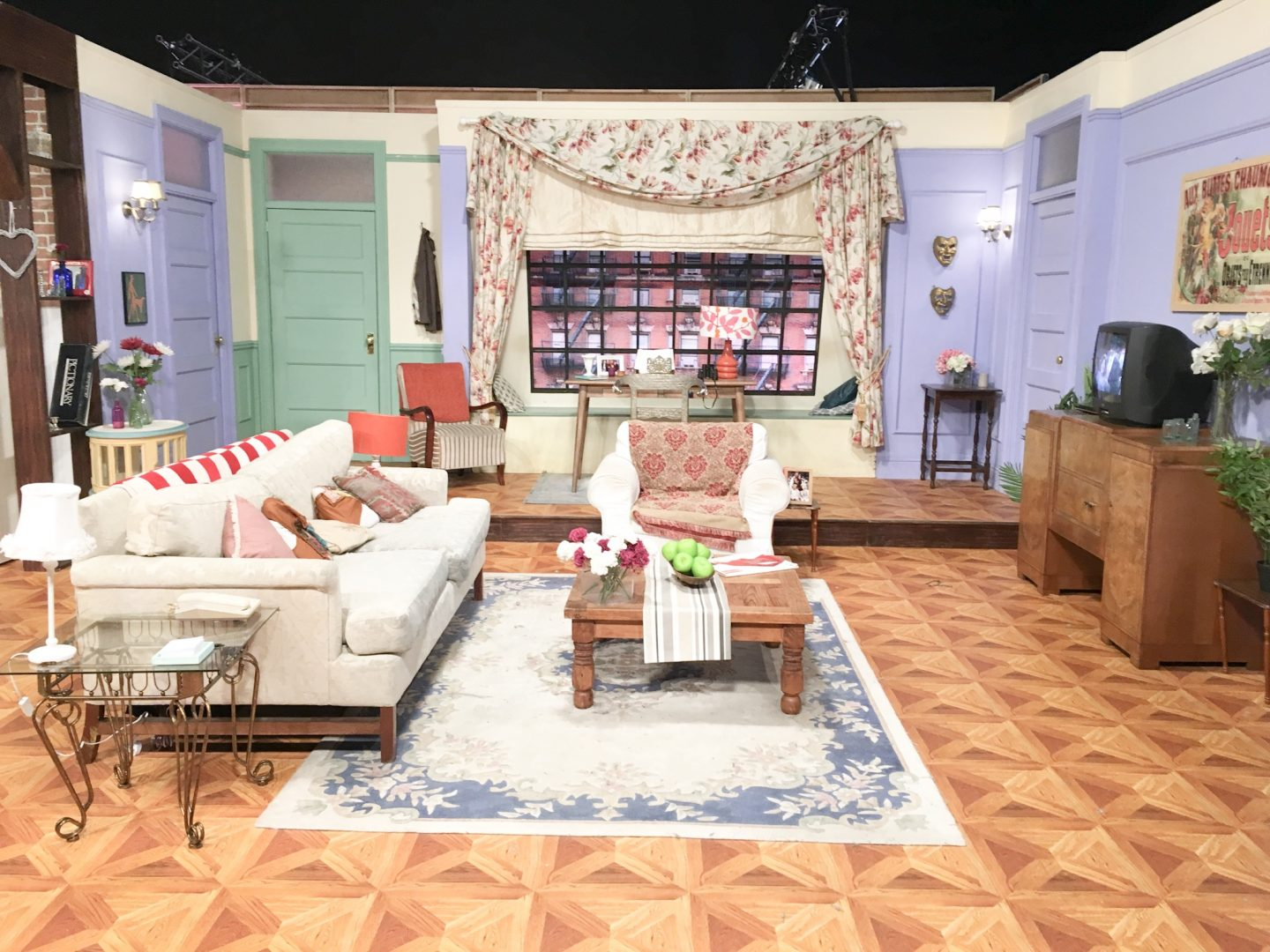 Monica's apartment at Friendsfest Bristol