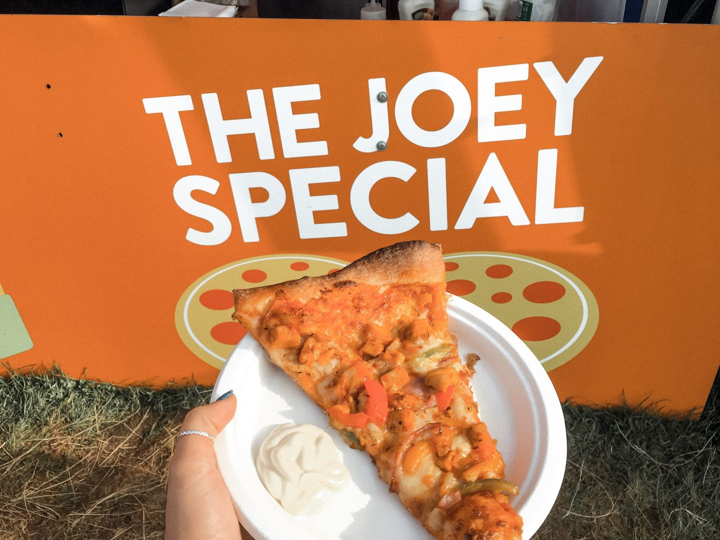 Friendsfest Joey Special Pizza