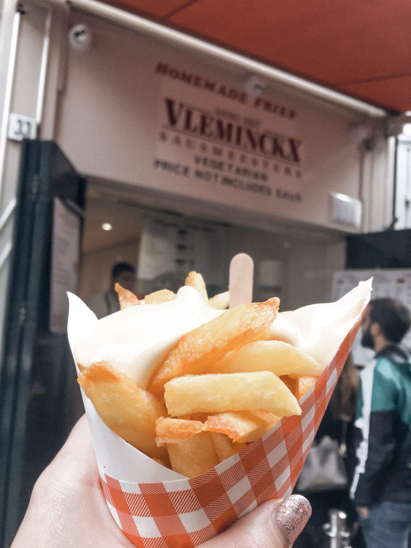 Vlaams Friteshuis Vleminckx fries in Amsterdam