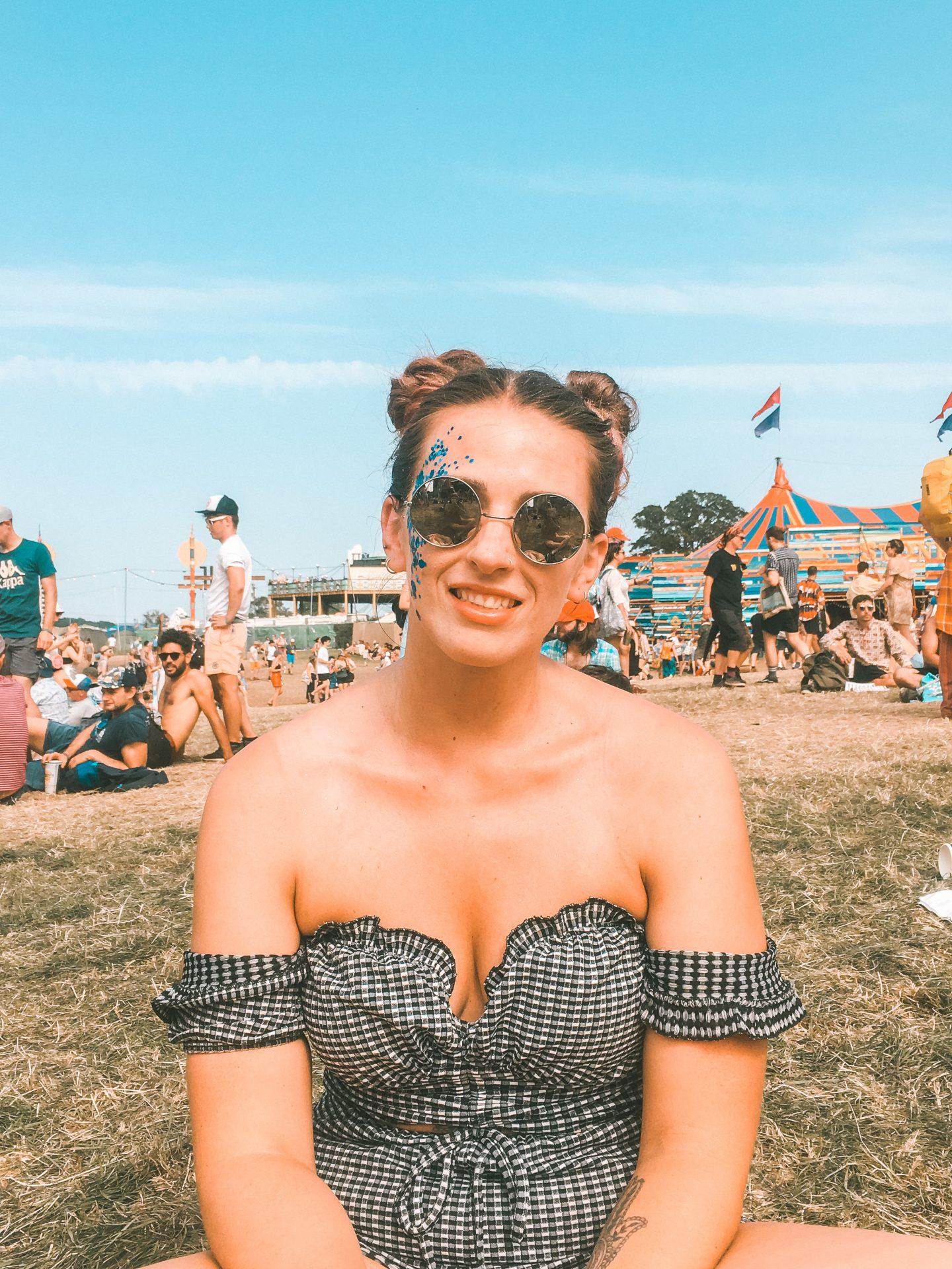 Girl at UK day dance festival