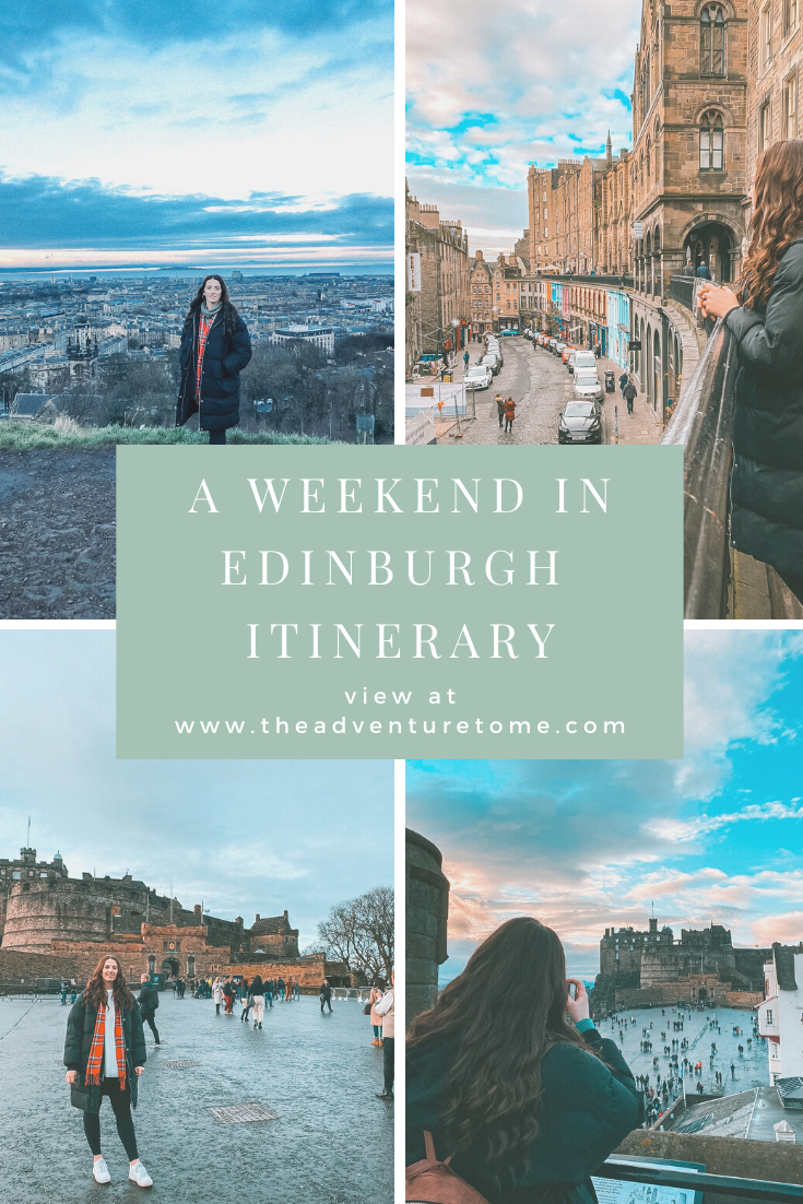 A weekend in Edinburgh itinerary