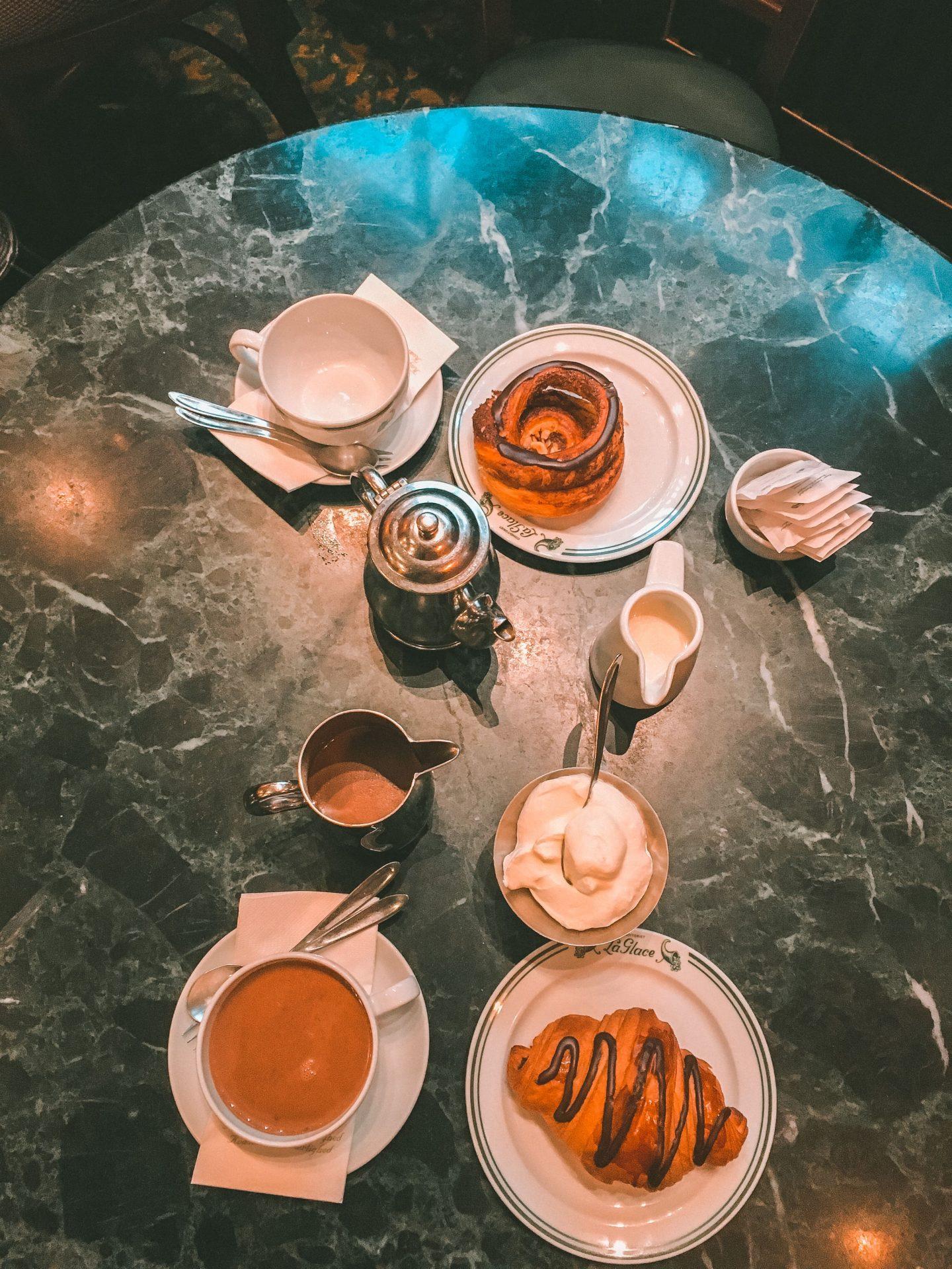 Breakfast at La Glace Copenhagen