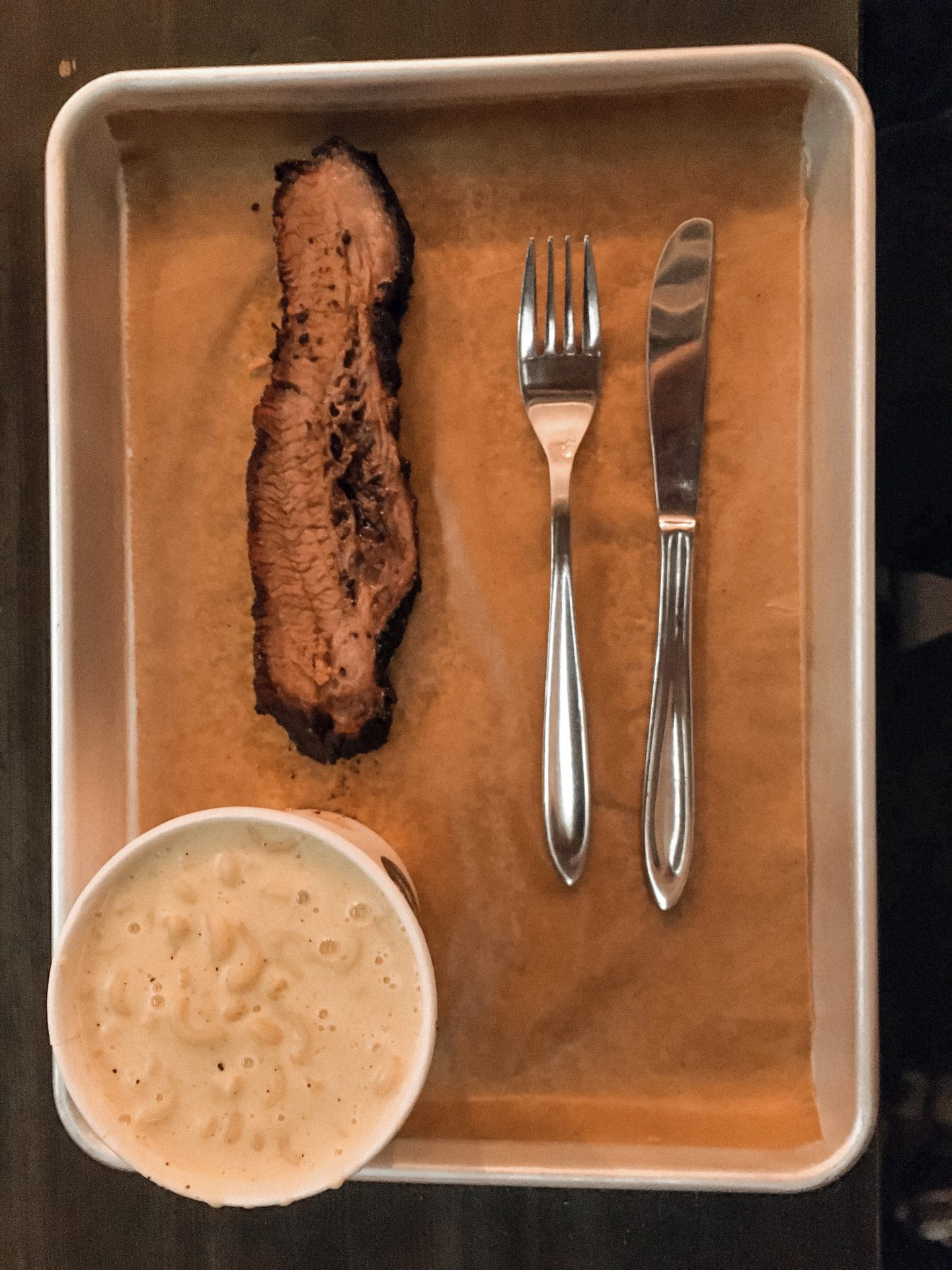 Meat and mac n cheese at Warpigs in Meat District Copenhagen
