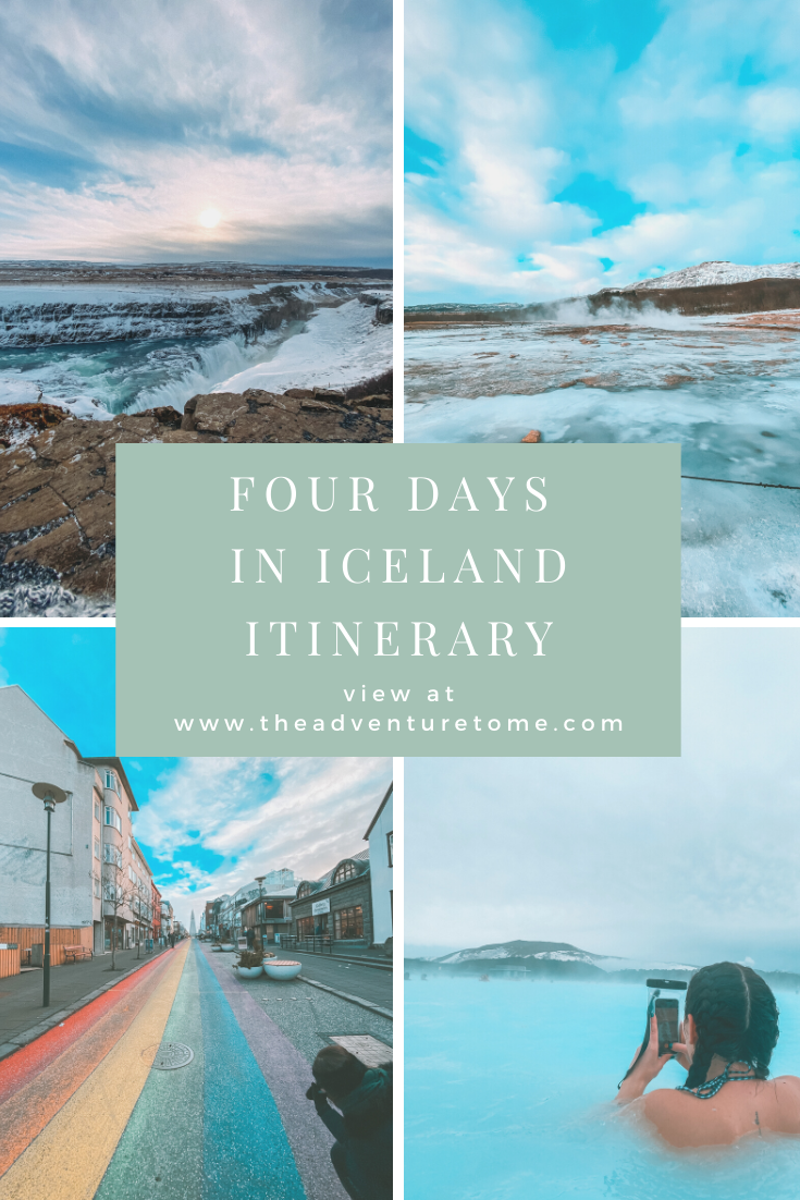 Four days in Iceland pin