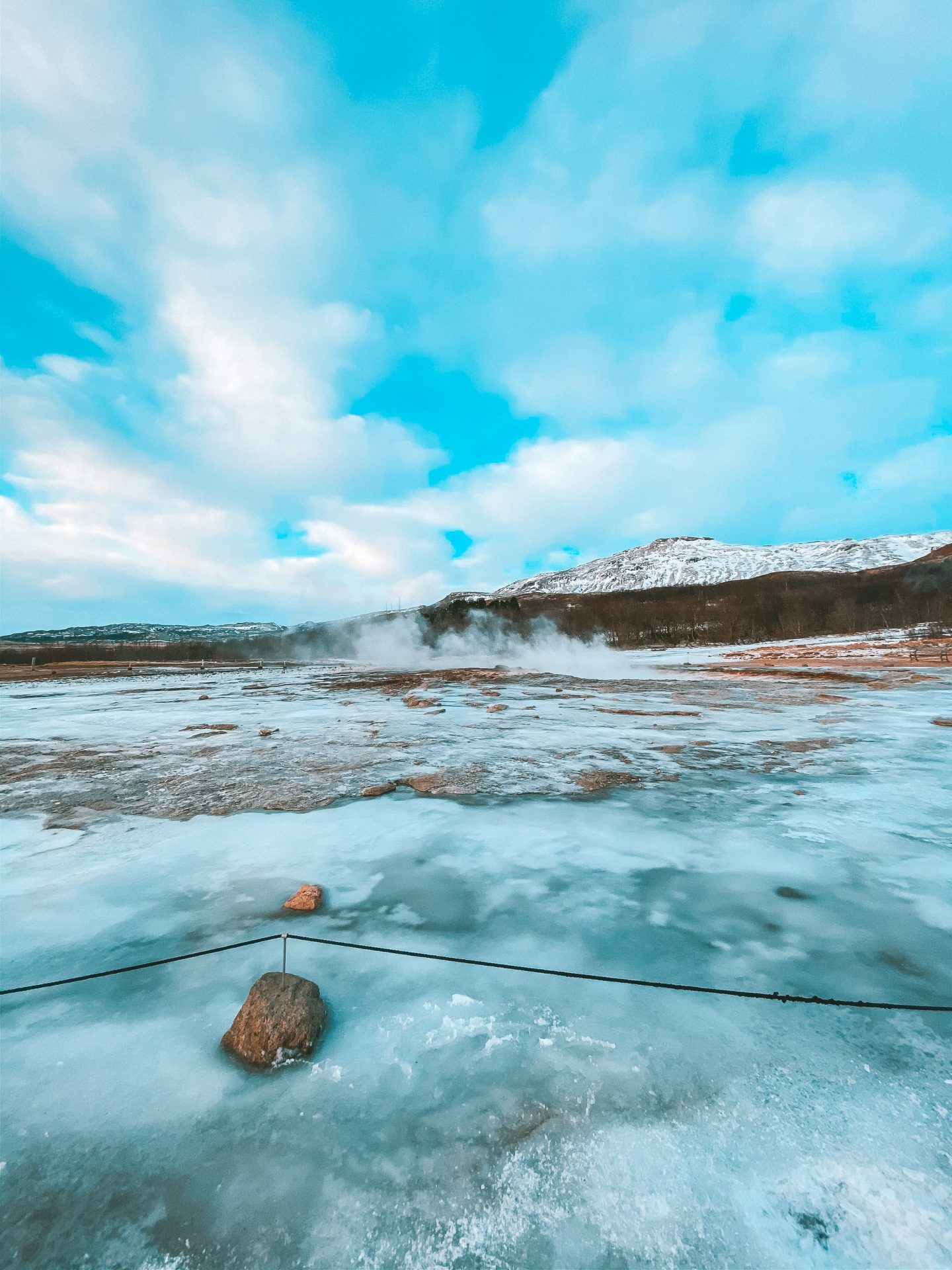 Geysir Geothermal Area in Iceland