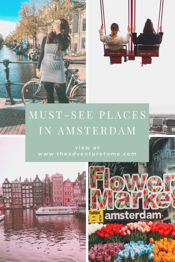 Must-See Places In Amsterdam pin