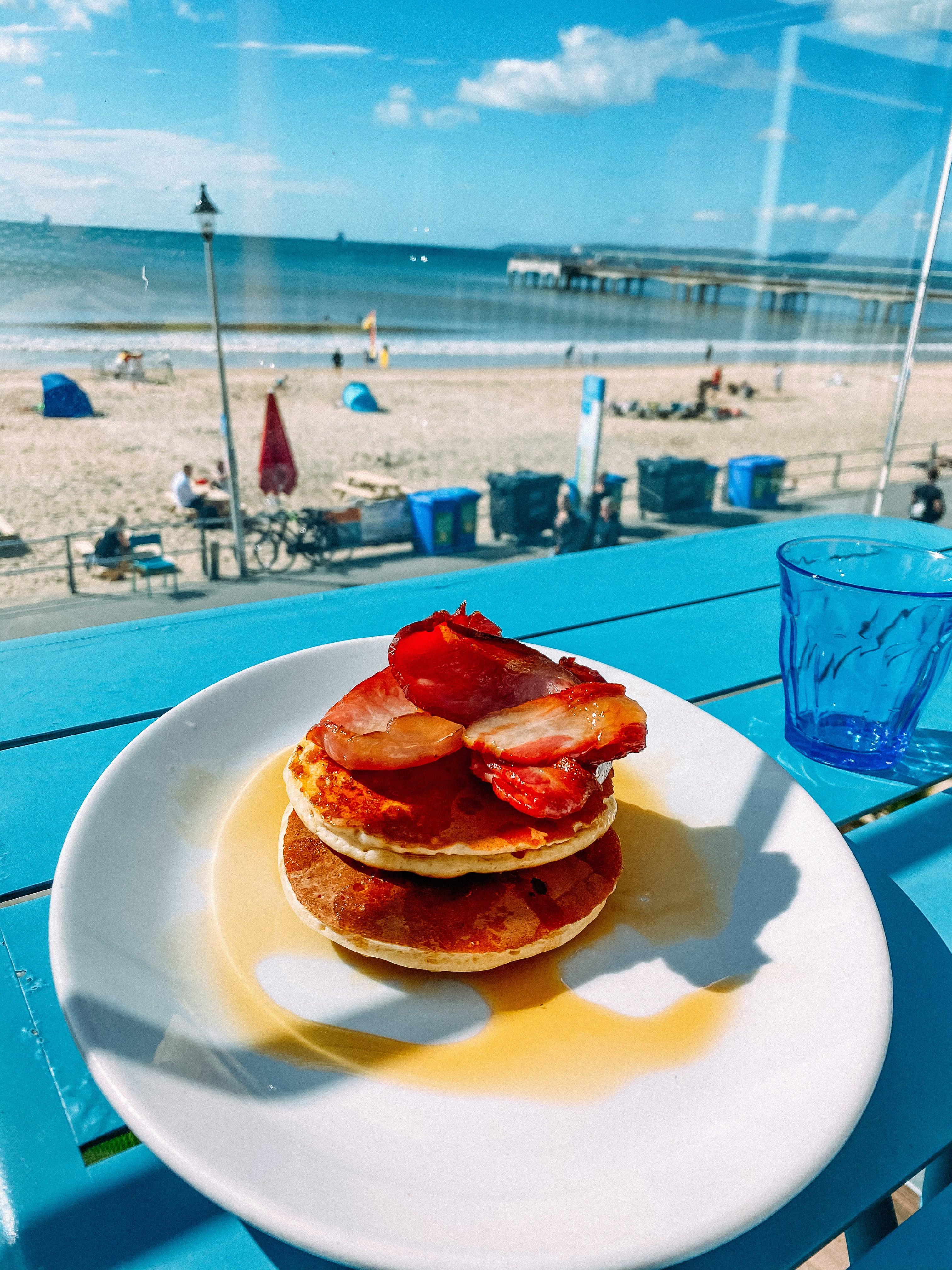pancakes at urban reef bournemouth