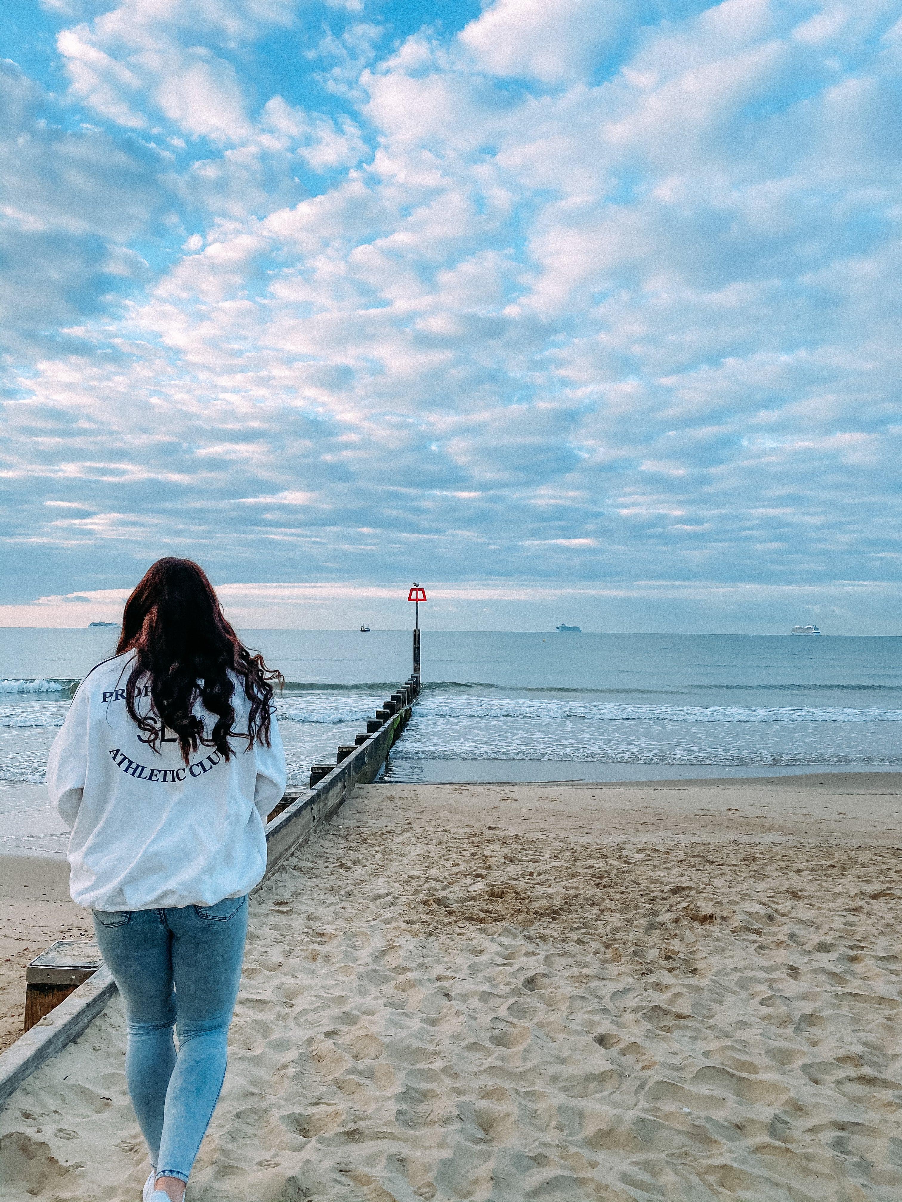 sunrise at bournemouth beach UK