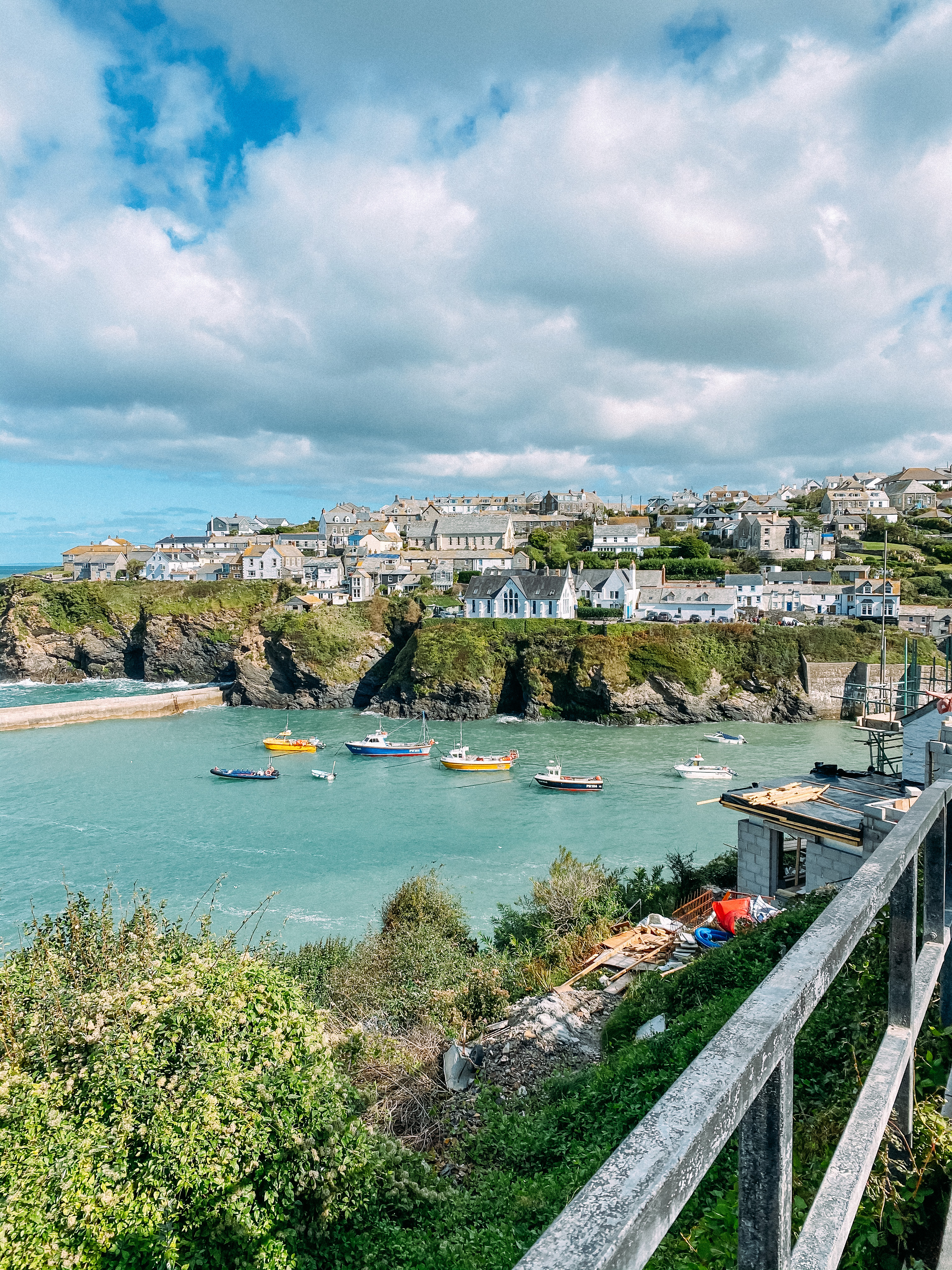 Port Issac in North Cornwall