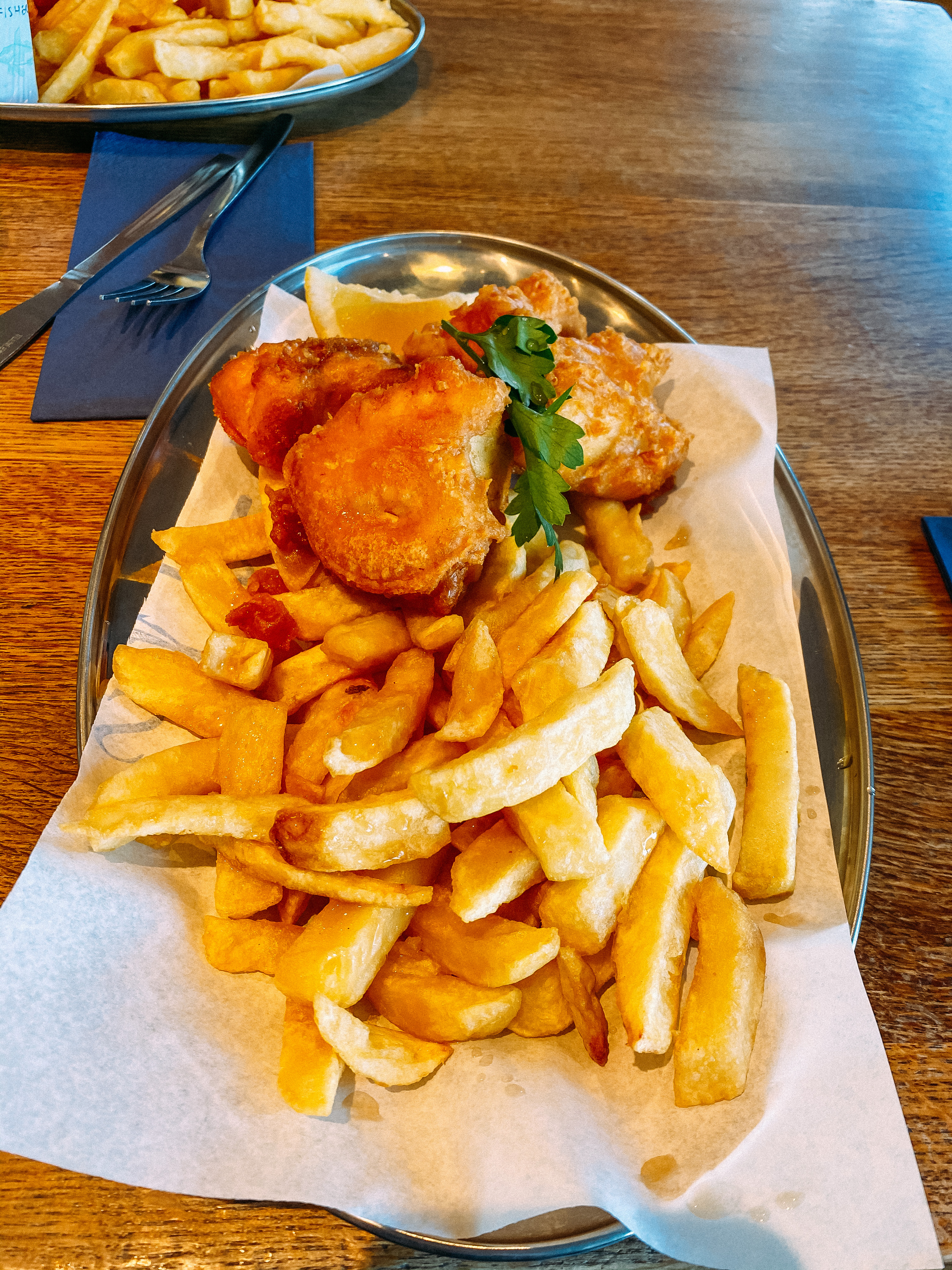 fish and chips from Rick Stein in Padstow