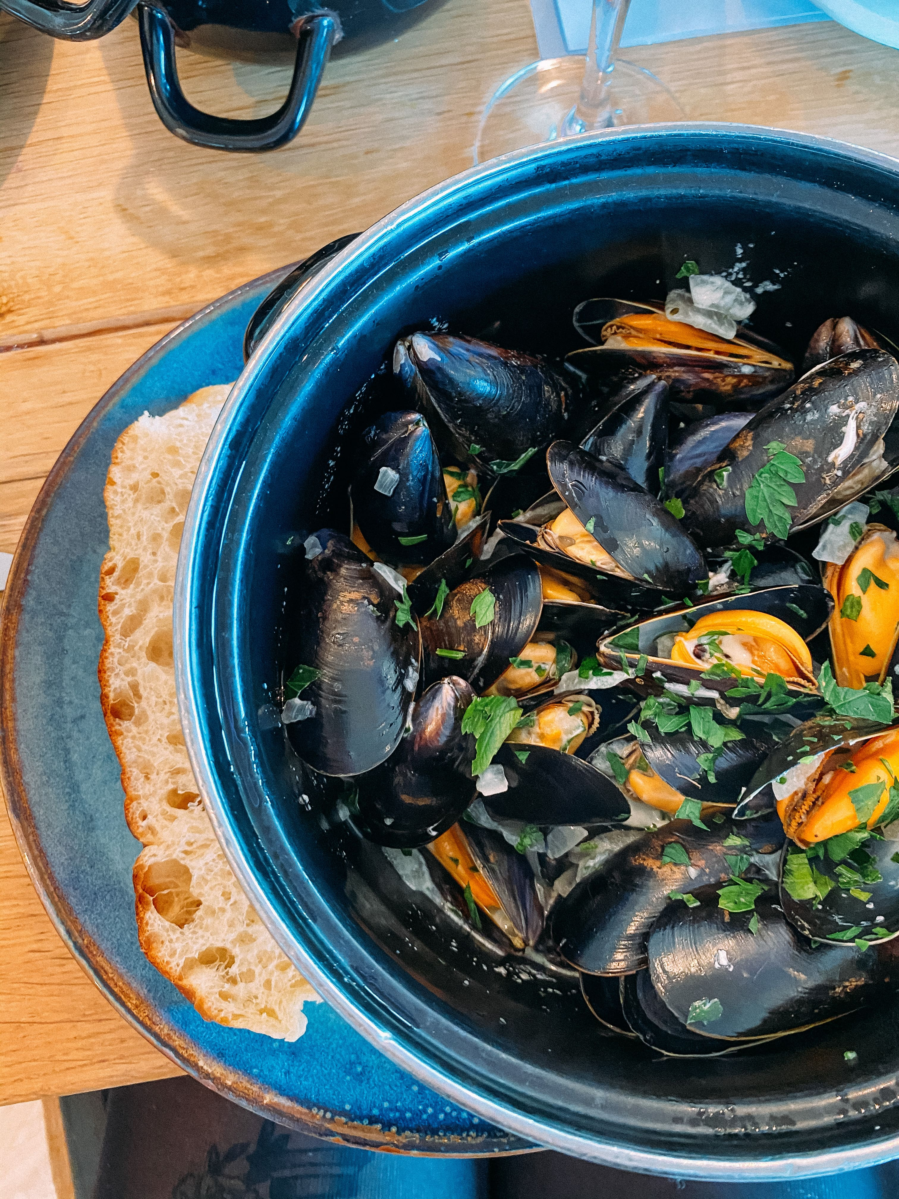 Mussells from Lewinnick Lodge in Newquay