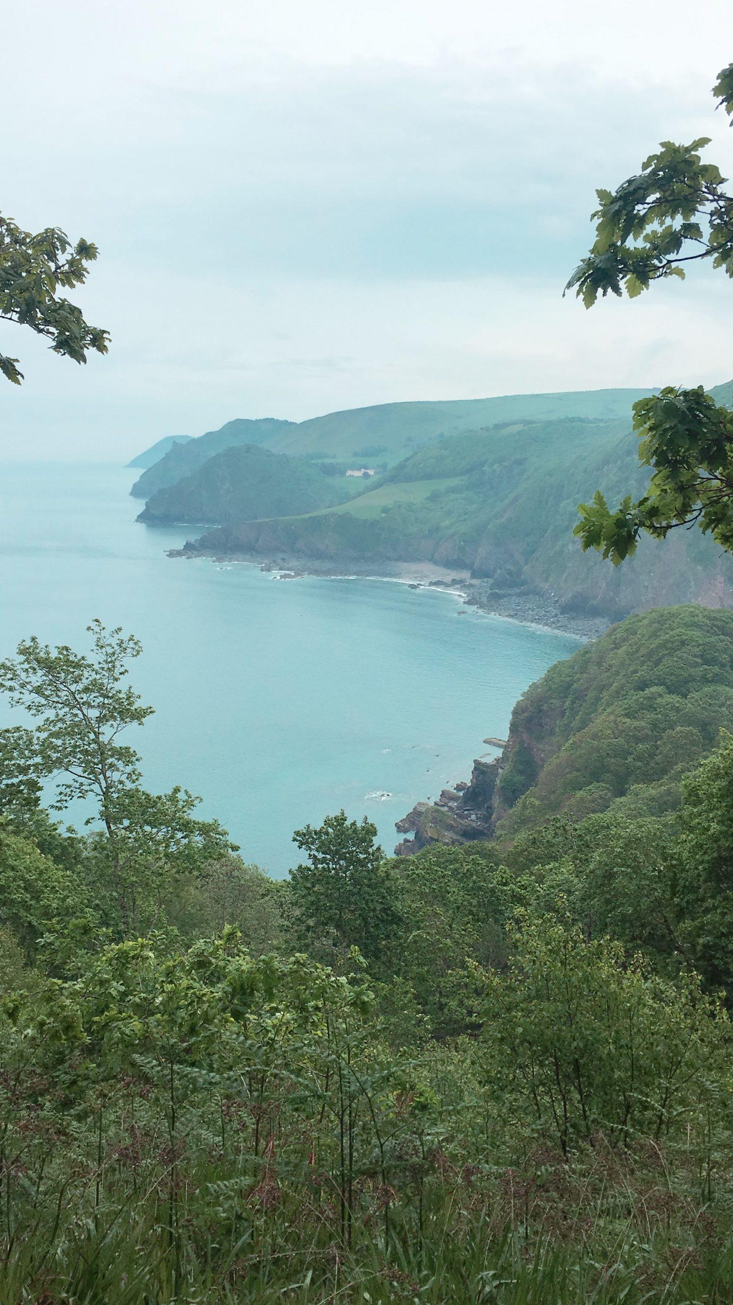 Woody Bay views North Devon