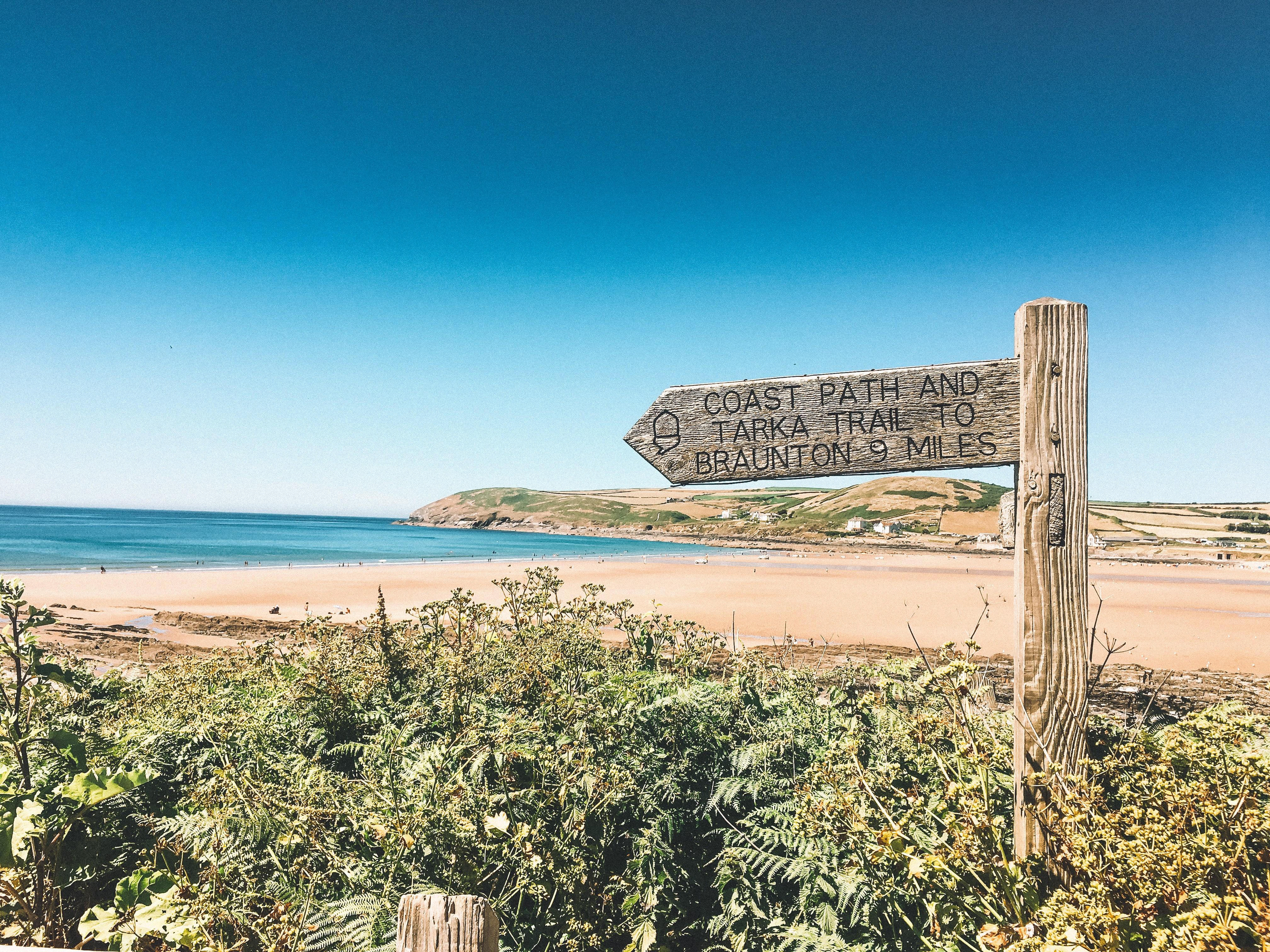 Tarka Trail North Devon sign