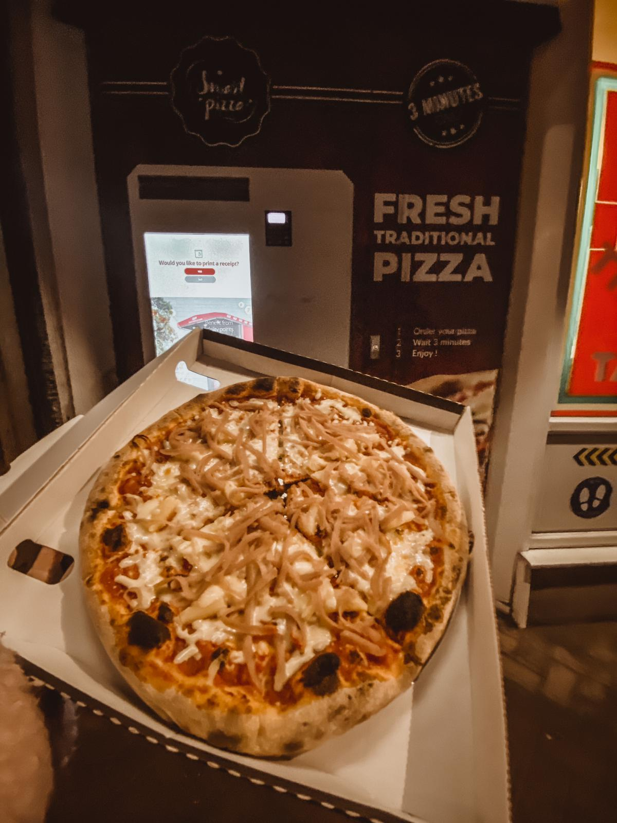 Pizza Bella vending machine in Bristol