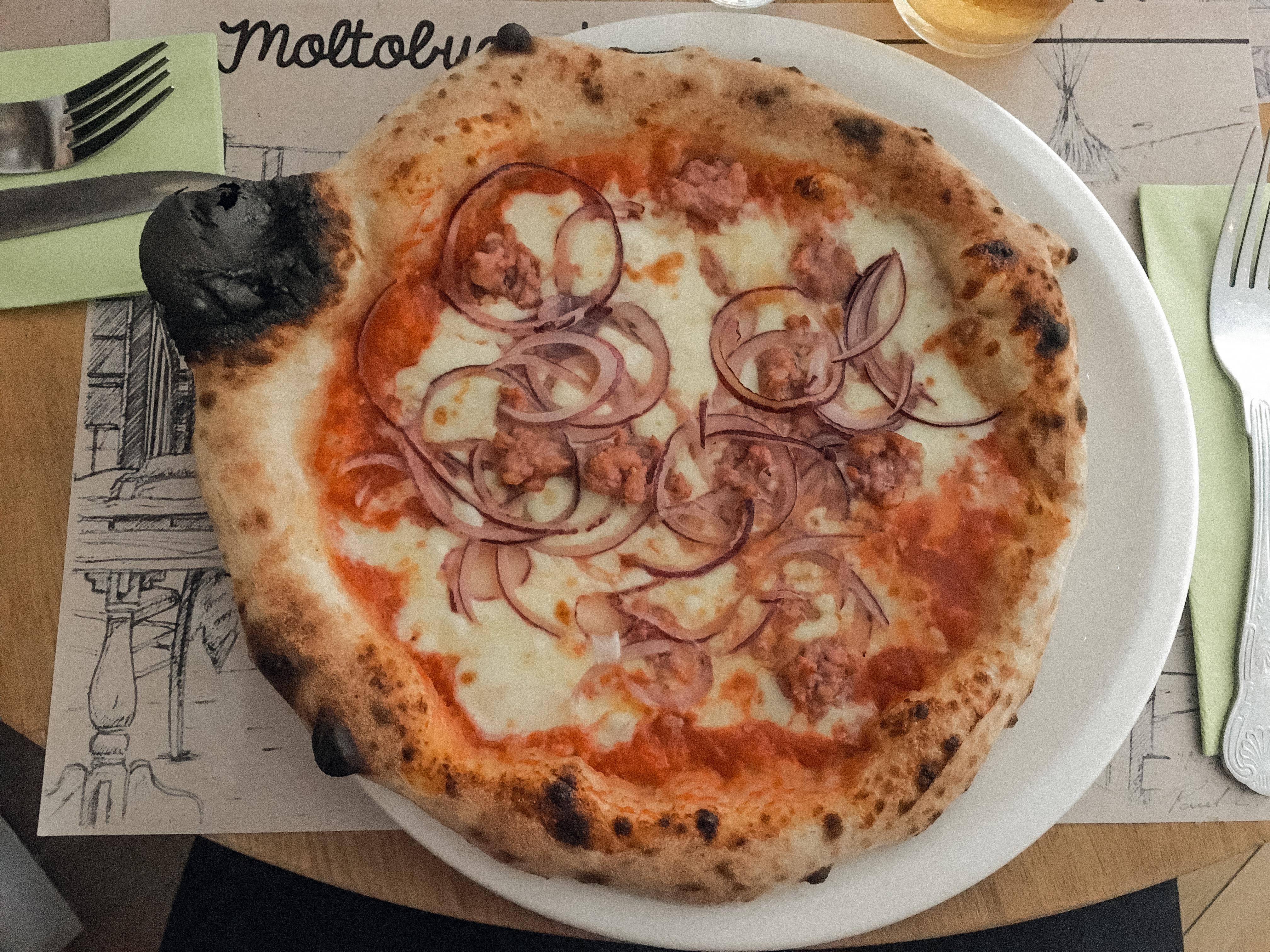Moltobuono pizza in Bristol