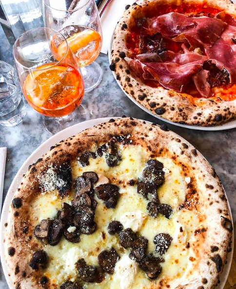 Bosco Pizzeria pizza in Bristol