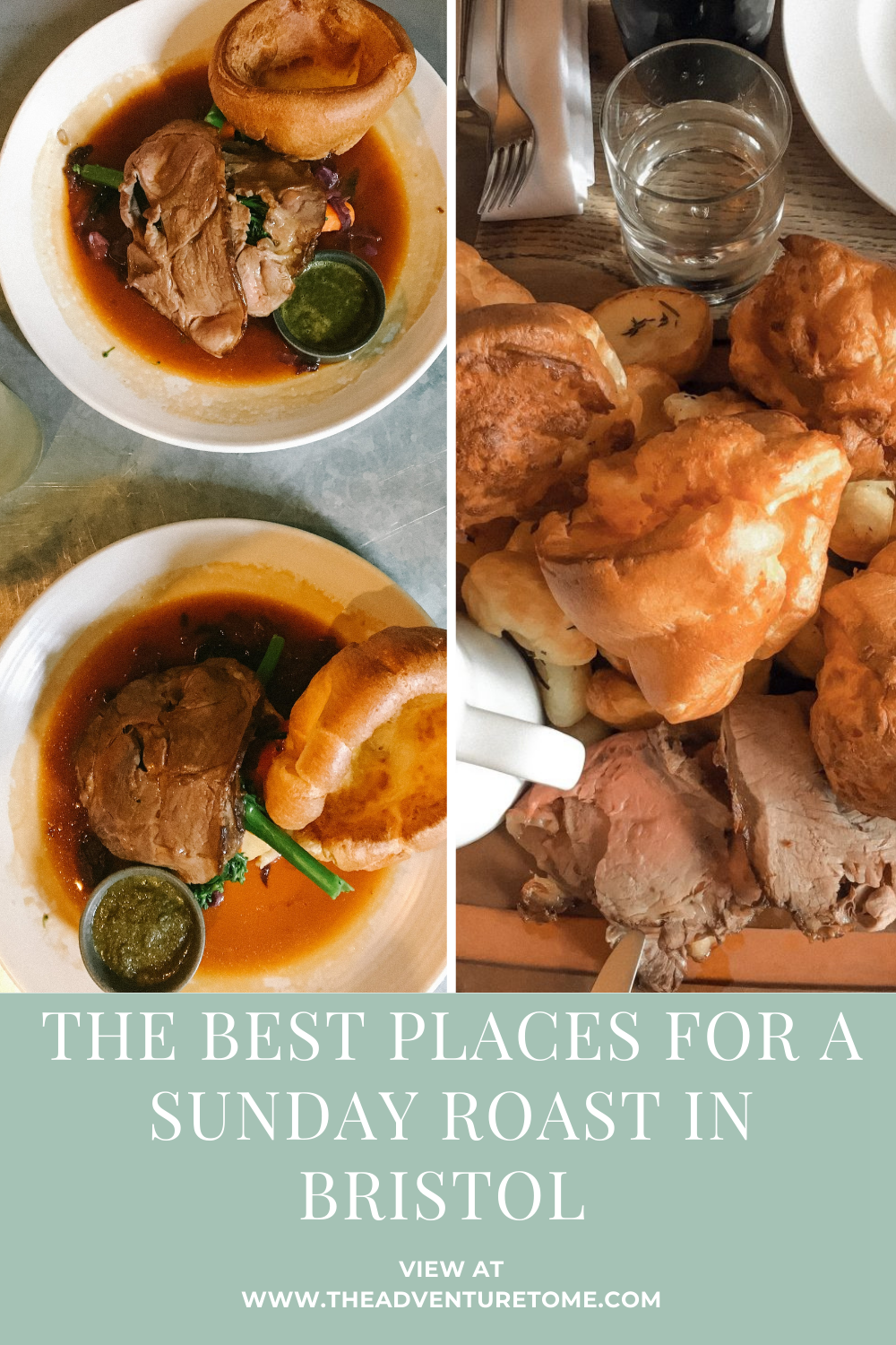 The best places for a Sunday Roast in Bristol